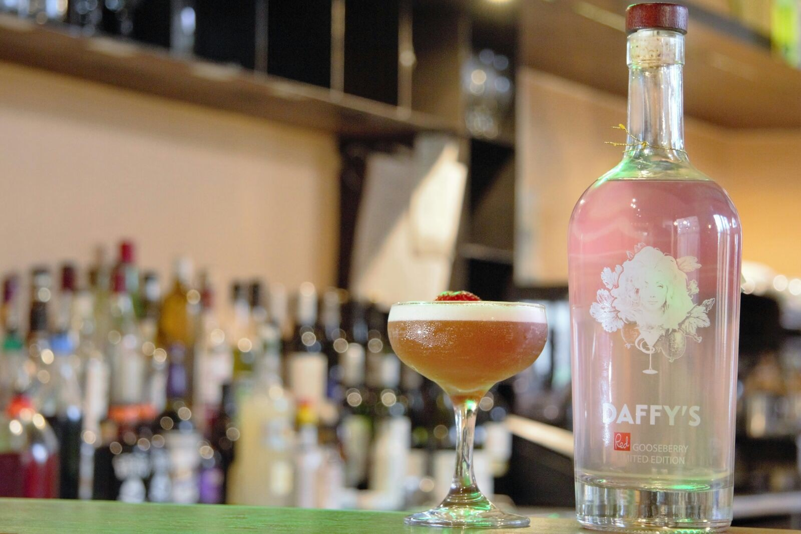 Daffy's Limited Edition Red Gooseberry Gin